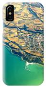 Aerial Photography - Italy Coast IPhone Case