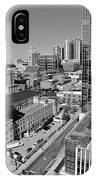 Aerial Photography Downtown Nashville IPhone Case