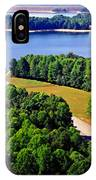 Aerial Summersville Dam And Lake IPhone Case