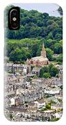 Aerial View Of Keswick In The Lake District Cumbria IPhone Case