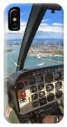 Aerial View Of Manhattan IPhone Case