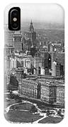 Aerial View Of Nyc Battery IPhone Case
