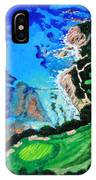 Aerial View Of Pebble Beach IPhone Case