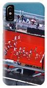 Aerial View Of People Running IPhone Case