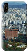 Aerial View Of Seoul South Korea IPhone Case