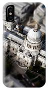 Aerial View Of St Pauls Cathedral IPhone Case