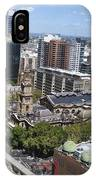 Aerial View Of Sydney City Hall IPhone Case