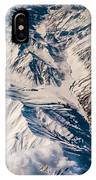Aerial View Of The Mountains IPhone Case