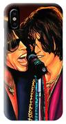 Aerosmith Toxic Twins Painting IPhone Case