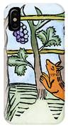 Aesop The Fox & The Grapes IPhone Case