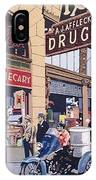 Affleck's On Tenth Street IPhone Case