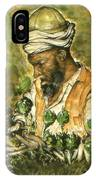 Afghani Harvest - Watercolor IPhone Case