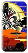 Africa At Sunset  IPhone Case