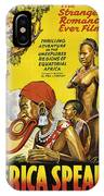 Africa Speaks IPhone Case