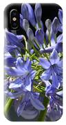 African Blue Lily IPhone Case