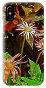 African Daisies In Aswan Botanical Garden On Plantation Island In Aswan-egypt IPhone Case
