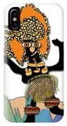 African Dancer 6 IPhone Case