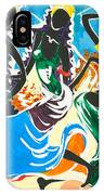 African Dancers No. 2 IPhone Case