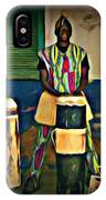 African Drummers IPhone Case