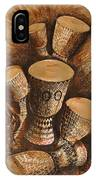 African Drums IPhone Case