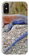 African Safari Lizard IPhone Case