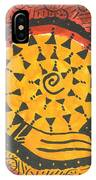 African Shell Pattern IPhone Case