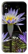 African Waterlily Dazzle -- Plus Dragonfly IPhone Case
