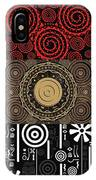 Afroecletic II IPhone Case