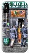 Afternoon At Mcsorley's IPhone Case