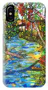 Afternoon At The Creek IPhone X Case