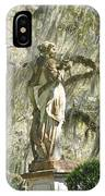 Afton Plantation Villa Statuary IPhone Case