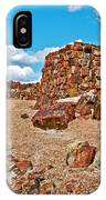 Agate House In Petrified Forest National Park-arizona  IPhone Case