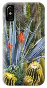 Agave And Cactus IPhone Case