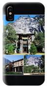 Ahwahnee Hotel In Yosemite National Park IPhone Case