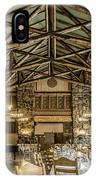 Ahwahnee Dining Room IPhone Case