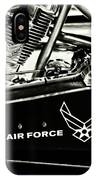 Air Force Motorcycle IPhone Case