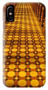 Church Aisle Patterned Floor IPhone Case