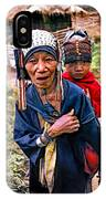 Akha Tribe II Paint Filter IPhone Case