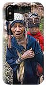 Akha Tribe II IPhone Case