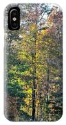 Alabama Forest In Autumn 2012 IPhone Case
