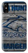 Alabama Huntsville Chargers IPhone Case