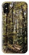 Alabama Woodlands In Spring 2013 IPhone Case