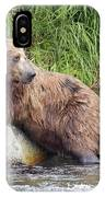 Alaskan Grizzly IPhone Case