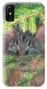 Alaskan Wild Cat IPhone Case