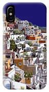 alba a Santorini IPhone Case