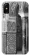 Alcazar Column Arches And Tile IPhone Case
