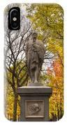 Alexander Hamilton Statue IPhone Case