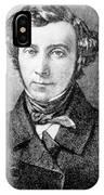 Alexis De Tocqueville IPhone X Case