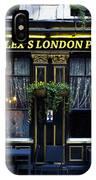 Alex's London Pub IPhone Case