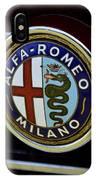 Alfa Romeo Badge IPhone Case